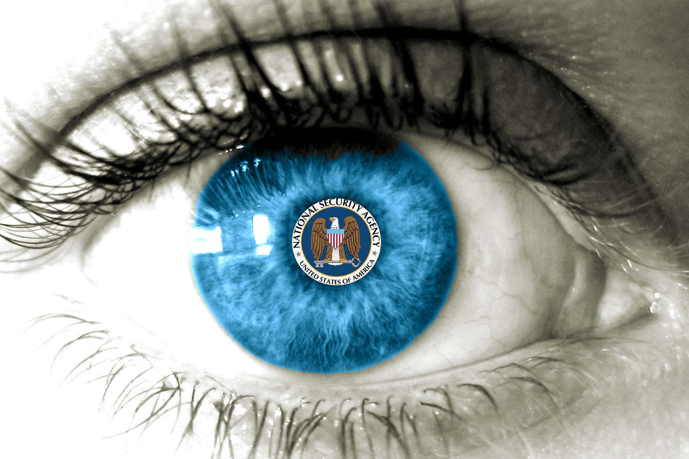 Eyeing the NSA with code(love) originally from sott.net